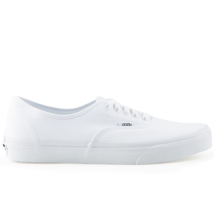 Vans Classics Authentic True White Mens Shoes