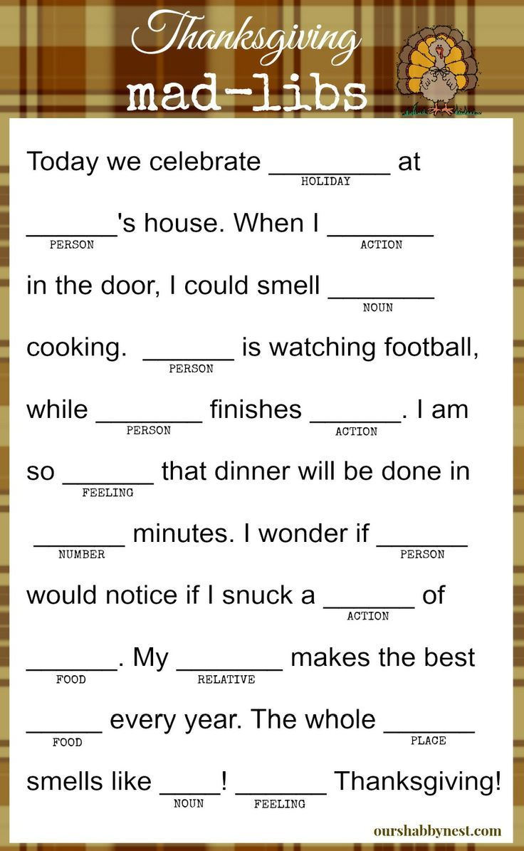 best ideas about thanksgiving games for adults thanksgiving mad libs keep the kids and even the adults happy while they wait