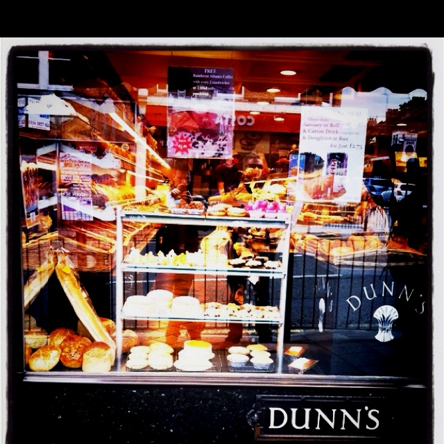 Dunns bakery in #crouchend. Best #bakery in #crouchend where there seems to be more bakers than there is people.