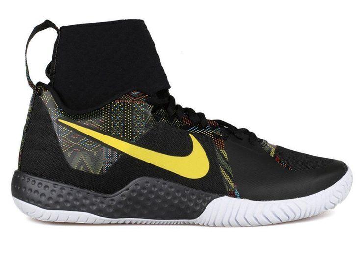 Nike Flare BHM QS Womens Tennis Shoes 9.5 Black Multi-Color 848453 001 Serena #Nike #Tennis