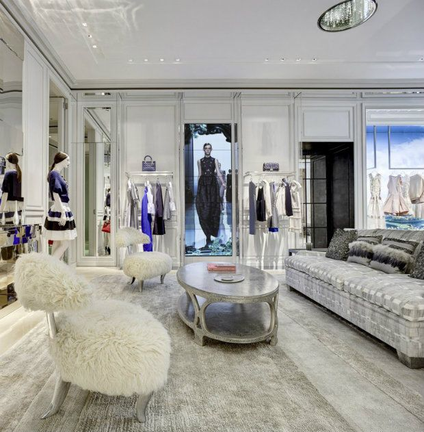 18 best Dior style interior images on Pinterest | Dior boutique ...