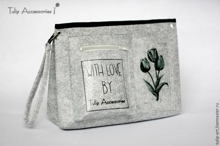 Как сделать из фетра загадочный «тинтамар», или Шьем органайзер в сумку - Ярмарка Мастеров - ручная работа, handmade