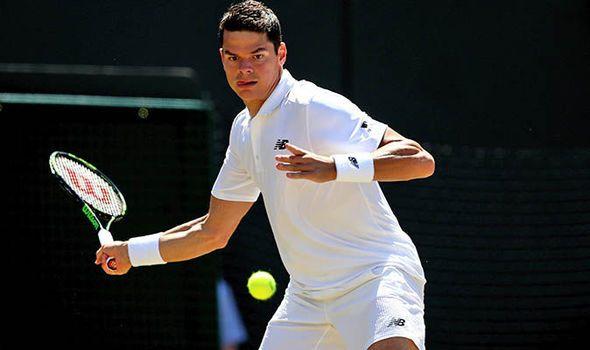 Milos Raonic beats Sam Querrey to reach Wimbledon semi-finals