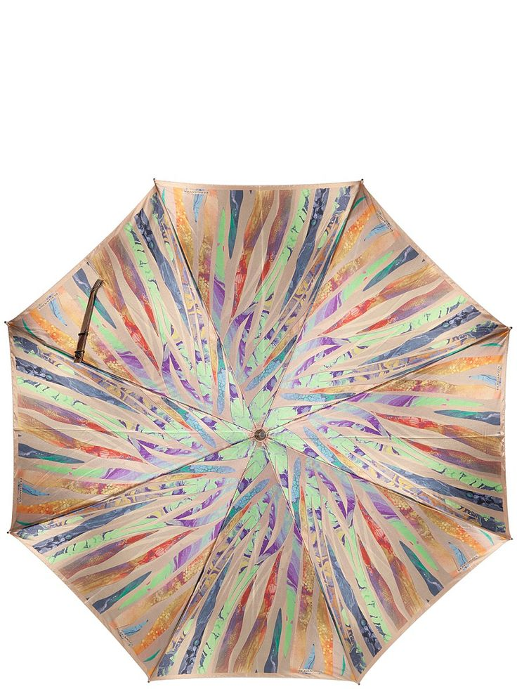 Зонт Eleganzza. Цвет синий, светло-зеленый, бледно-розовый.
