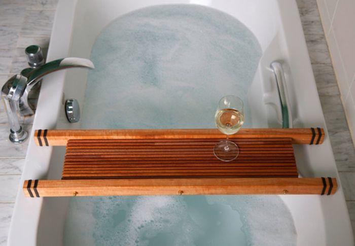 Badewannenablage Deko Badezimmer Ideen ablage badewanne fecher