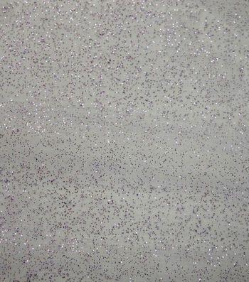 Glitterbug Glitter Organza Fabric-Lilac