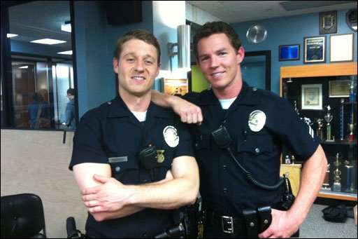 SouthLAnd! Ben McKenzie and Shawn Hatosy. Perfection!