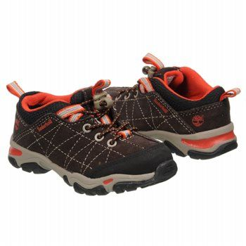 Timberland Trail Force Bungee T/P Shoes (Dk Brown/Rust) - Kids' Shoes - 6.0 M