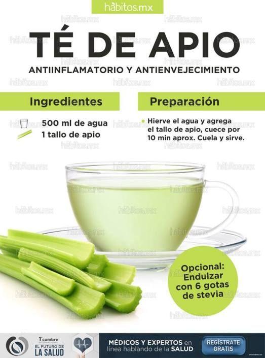 TÉ DE APIO – Antiinflamatorio – Antienvejecimiento