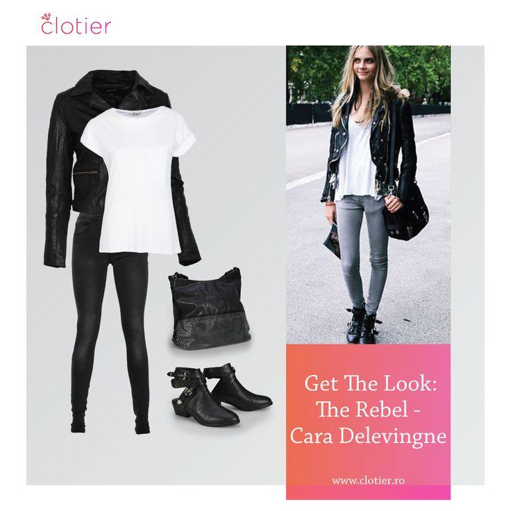 Get The Look: The Rebel – Cara Delevingne ‹ Clotier  http://www.clotier.ro/blog/2014/09/24/get-the-look-the-rebel-cara-delevingne/?utm_source=Pinterest&utm_medium=Board&utm_campaign=Blog%20Clotier&utm_content=Get%20the%20look