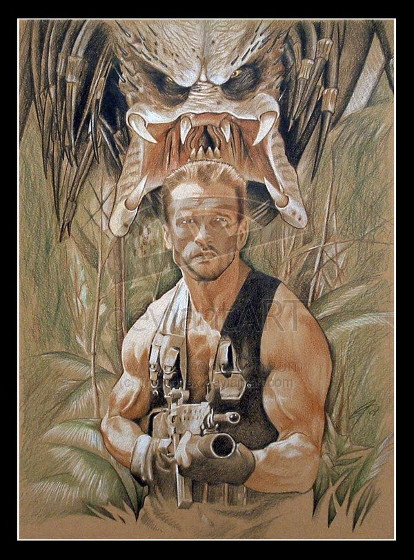 Predator / Arnold - EXPAND THIS ONE