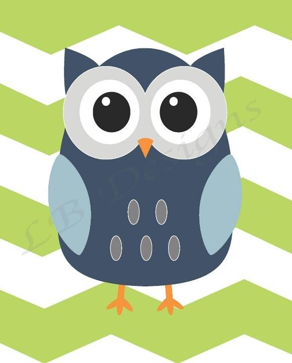 Cute owl background