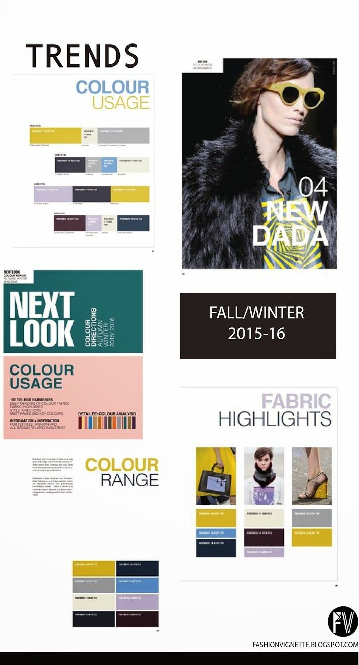 A/W 15-16 Colour Trends