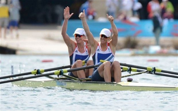 Katherine Grainger and Anna Watkins - Women's Double Sculls Rowing Gold
