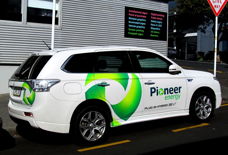 Pioneer Energy Vehicle Graphics by Speedy Signs Newton