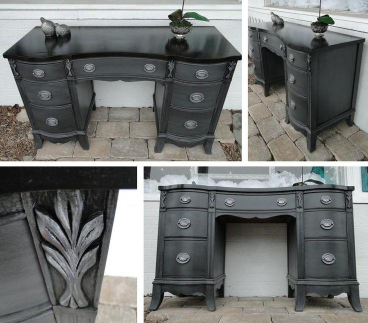 Gorgeous Gray Desk | General Finishes Design Center