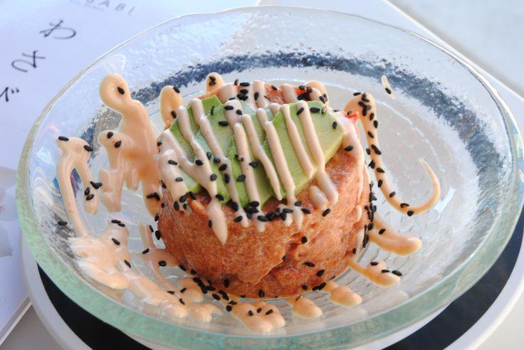 Tartare. Wasabi Sushi Marbella.