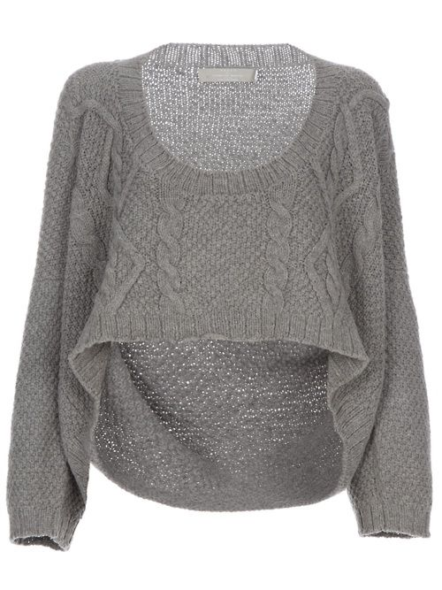 If only I had this sweater and a skin-tight yellow dress to wear with it.