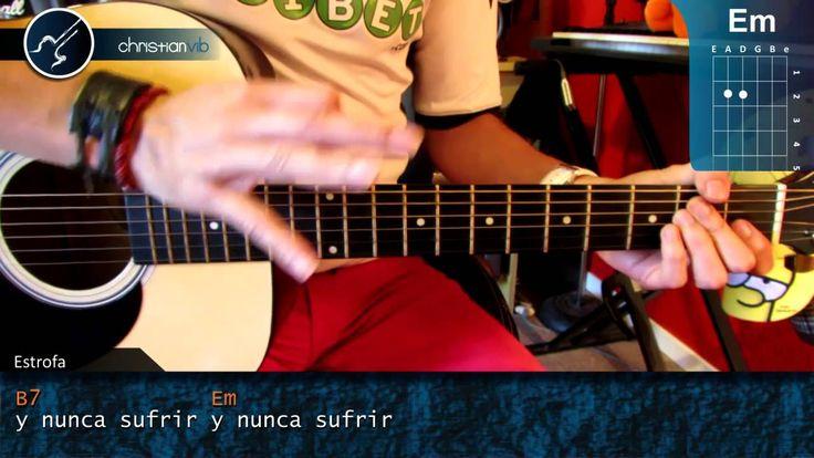 """Cómo tocar """"Amar y Querer"""" de José José en guitarra acústica (HD) Tutori..."""