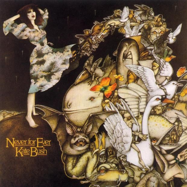Never for Ever - album cover  by artist Nick Price