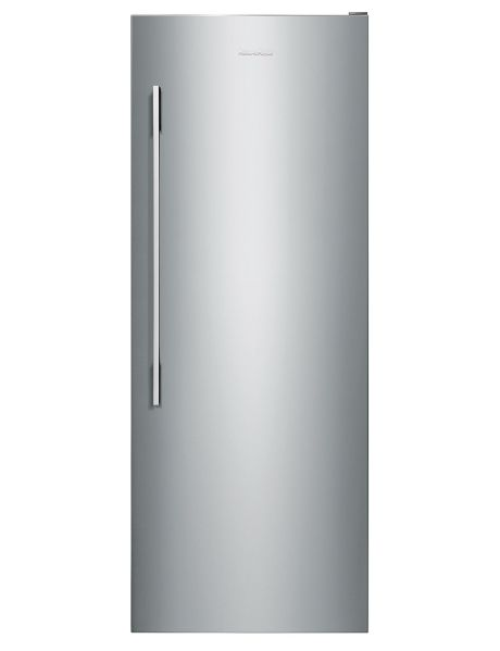 Busy families and those who enjoy entertaining at home will appreciate the style and convenience of this Fisher & Paykel vertical freezer.