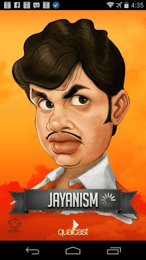 A good news for Kerala. Now enjoy lots of Jayan Quotes and Voice Jokes in a single application. Download the app and get unlimited Voice jokes and Jayan Quotes based on News, Movies, Games, Cricket, Football, Politics, etc for free .<p>Our Other Apps:<br>Tamil Astrology<br>Kannada Astrology<br>Tintumon Jokes<br>Gold and Currency<br>Malayalam SMS Jokes  http://Mobogenie.com