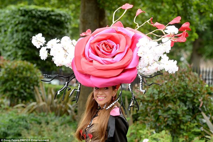 Royal Ascot, June 16, 2016. There was no chance of hat designer Tracy Rose blending in with the crowds while sporting ...