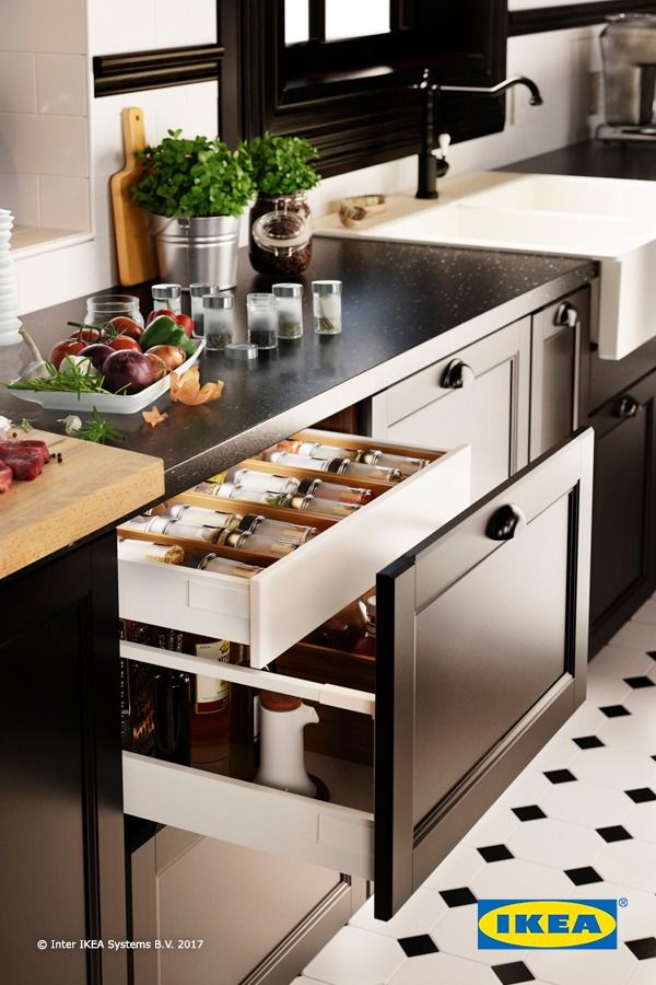 ikea kitchen design help. Kitchen organization made easy  Give spices a drawer built specifically for them to help find everything faster IKEA kitchen interior organizers you 336 best Kitchens images on Pinterest ideas Big
