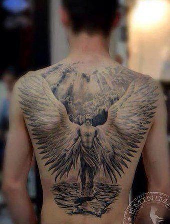 Angel tattoo - beautiful