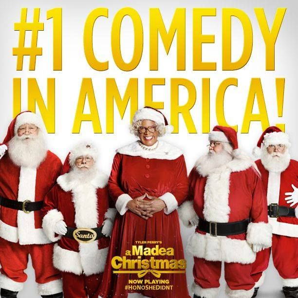 A Fun Gift To GIve  http://amzn.to/13X05et  Madea has everyone laughing! A Madea Christmas is the #1 comedy in America!