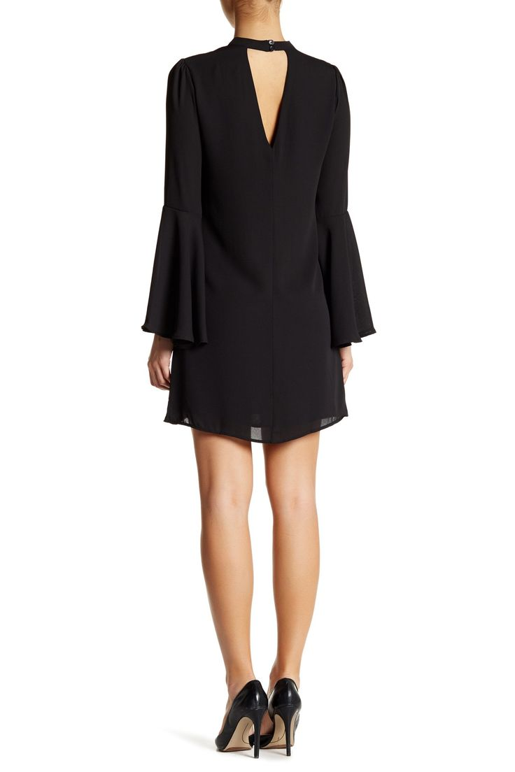 Long Bell Sleeve Dress by Soprano on @nordstrom_rack
