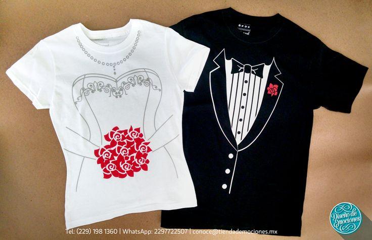 Camisetas ideales para la despedida de soltero juntos!!
