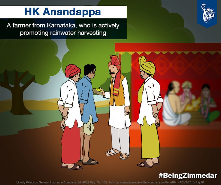 With worries about water shortage affecting his village, HK Anandappa, a farmer living in Honnanayakanahalli village in Karnataka, used his son's wedding as a podium and made his fellow villagers aware about preventing a drought situation. Planning about the future calamity in advance to prevent it truly made him special. #BeingZimmedar