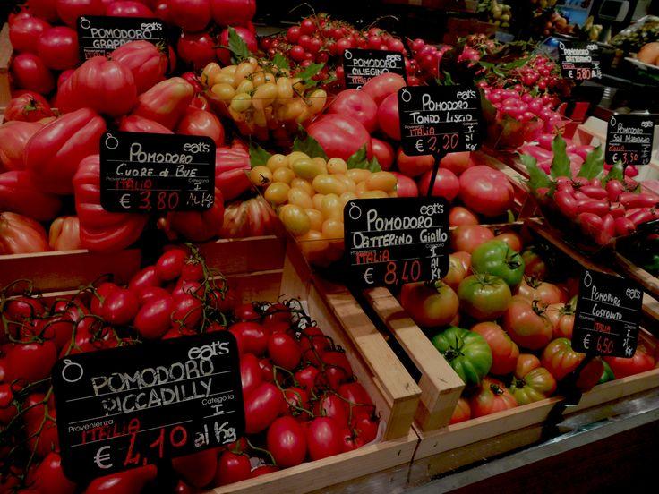 Tavolozza di pomodori,Excelsior, Milano