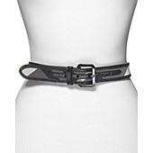Burberry Beat Nylon Beryl Check Belt