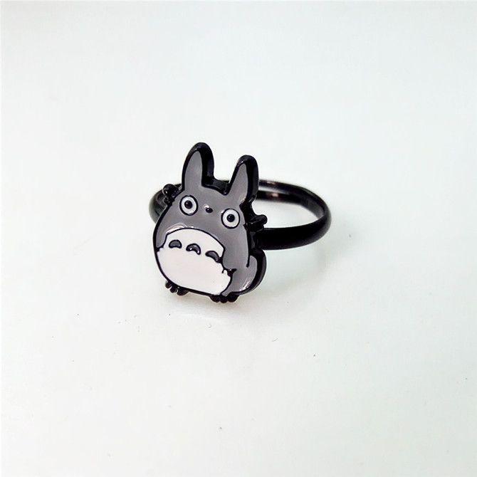 Totoro Adjustable Ring //Price: $10.00 & FREE Shipping //     #ghibli