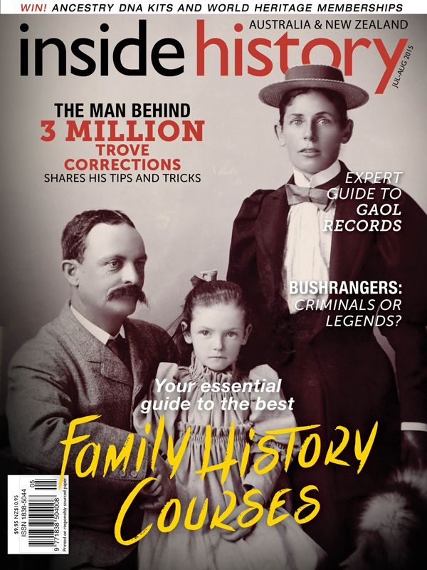 Issue 29 is out now. In this edition we help a reader uncover gaol records, find the best family history courses around, discover what's on during National Family History Month in August and much more!