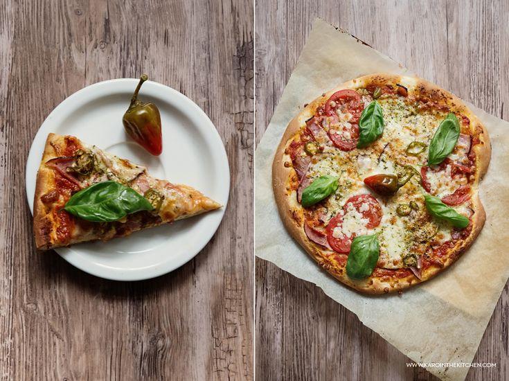 Pizza w godzinę. A nawet dwie pizze   Karo in the Kitchen