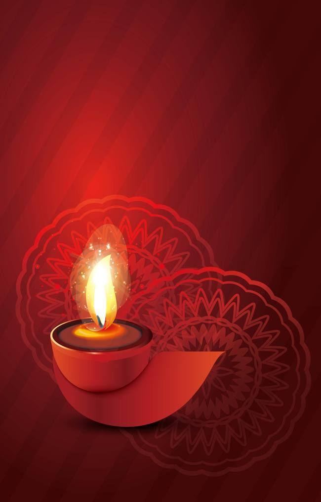 Diwali Festival Red Background In 2019 Diwali Festival