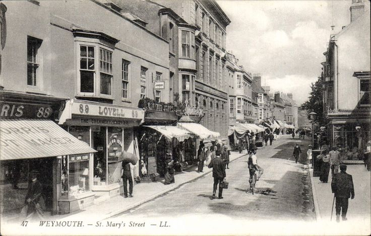 Weymouth. St Mary's Street # 47 by LL / Levy. Black & White. | eBay