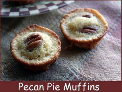 Mommy's Kitchen: Mini Pecan Pie Muffins & 4 Layer Cookie Bars.