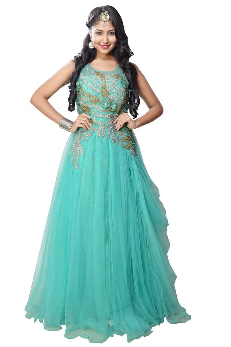 50 best Ethnic Wear Party Gown images on Pinterest | Party dress ...