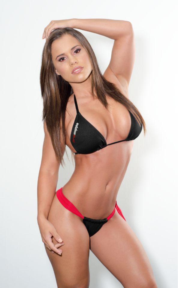 2 hot bikini babes share a hard cock in asses 1