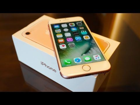 iPhone 7 – Unboxing & Hands On!