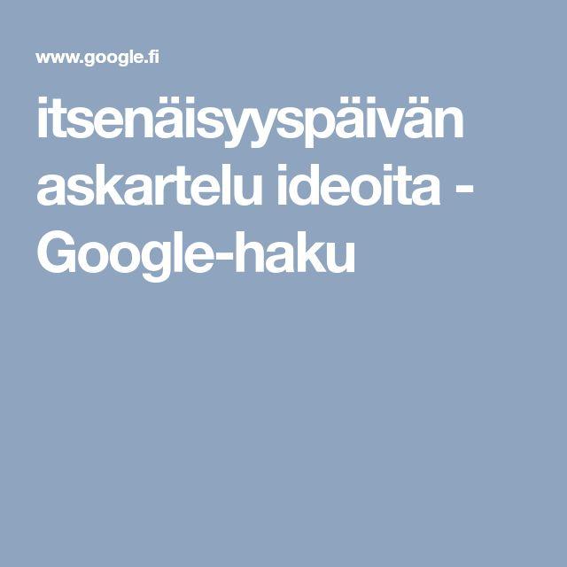 itsenäisyyspäivän askartelu ideoita - Google-haku