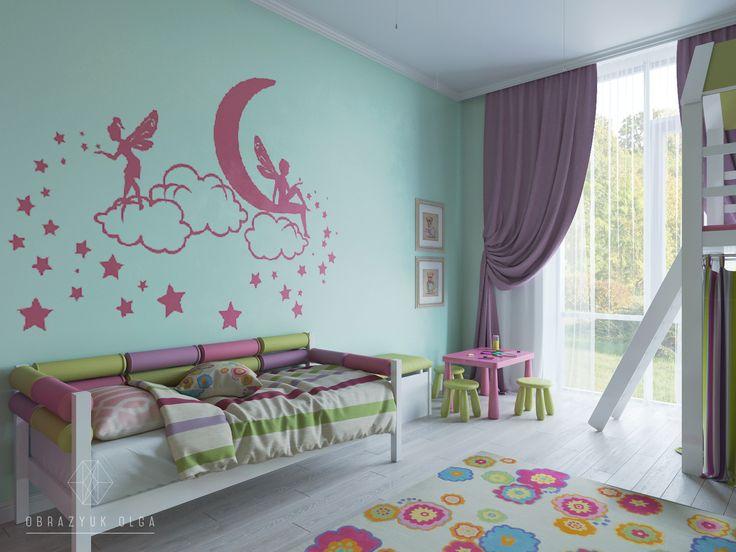 Дизайн интерьера детской комнаты|дизайн детской комнаты для мальчиков и девочек в Киеве от частного дизайнера Ольги Образюк.