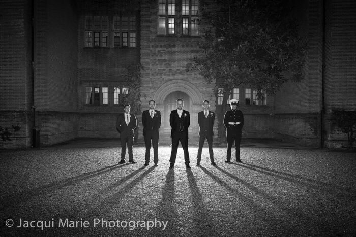 """The Boys"" outside New Place in Hampshire. A fabulous wedding venue, shot by stunning and affordable Hampshire wedding photographers, Jacqui Marie Photography. VISIT http://t.co/yGRIBeqzd4 for details"