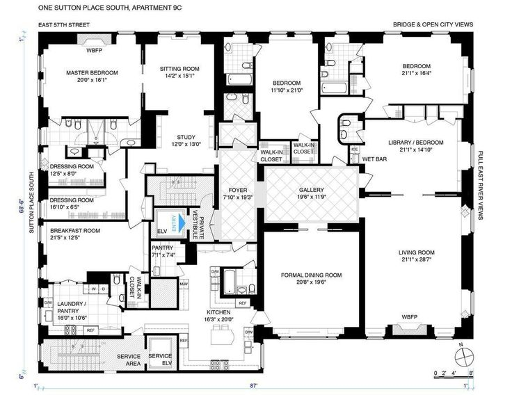 The 87 best appartments images on pinterest apartment floor plans streeteasy 1 sutton place south in sutton place 9cd sales rentals malvernweather Choice Image
