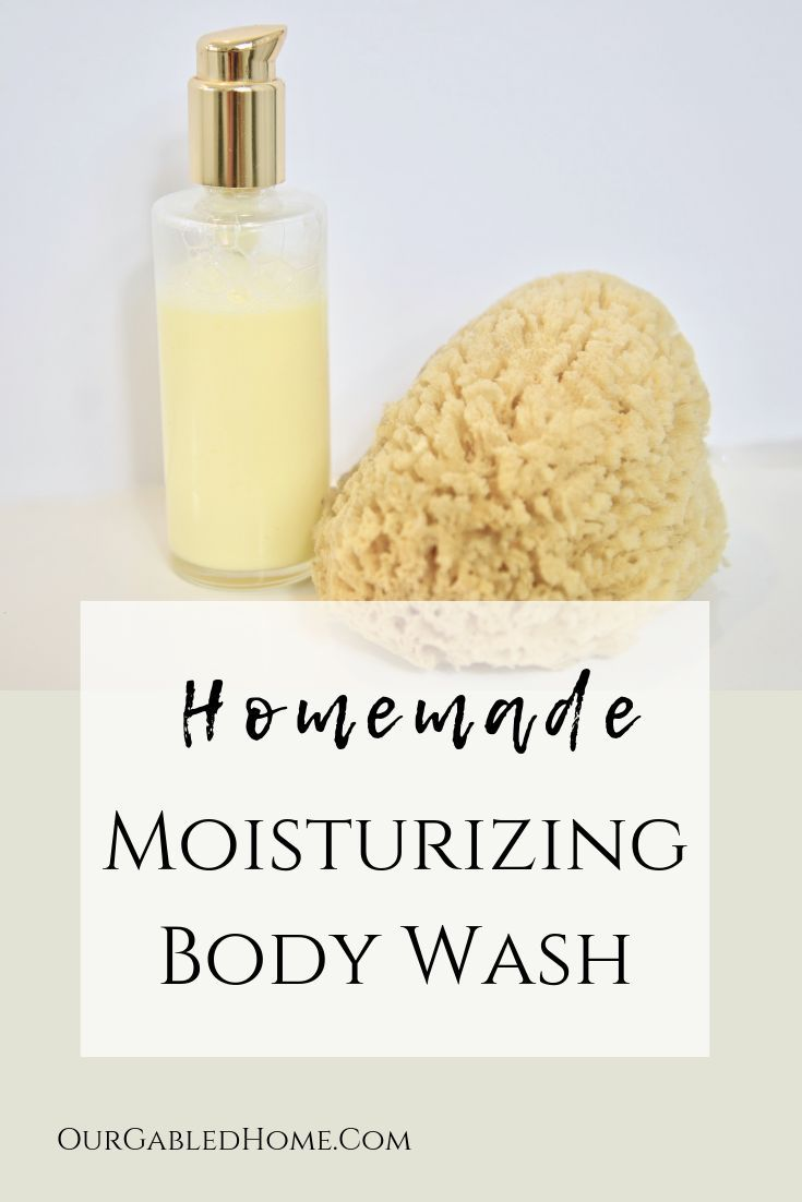 Make Your Own Moisturizing Body Wash With Only 2 Simple Ingredients Body Wash Recipe Homemade Body Wash Body Wash
