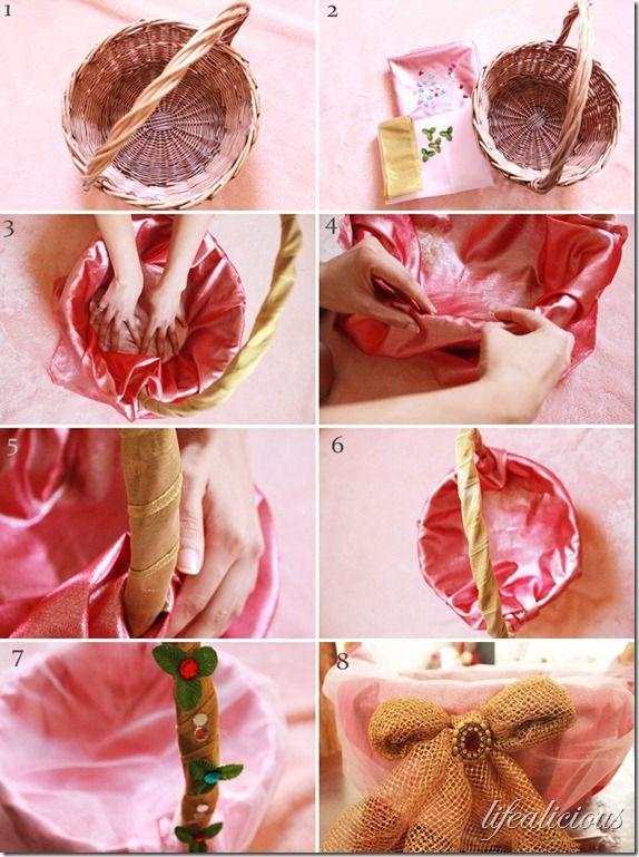 Easy Step Bystep Festive Diwali Gift Basket Wrapping Diy